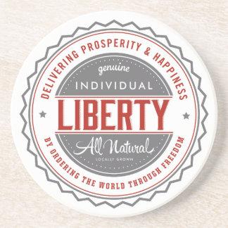 Individual Liberty Drink Coaster