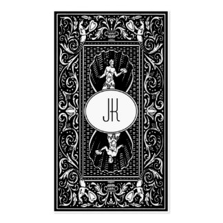 Individual monochrome classic business cards