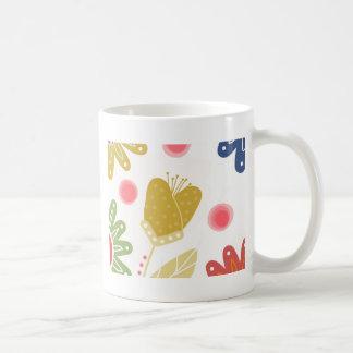 Individual You. Colourful flower design Coffee Mug