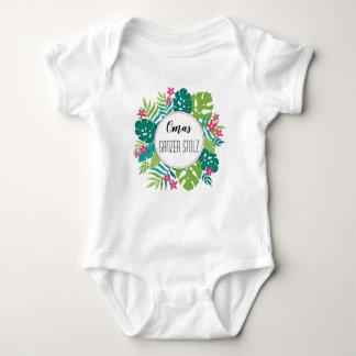 Individualize-cash tropical Babystrampler Baby Bodysuit