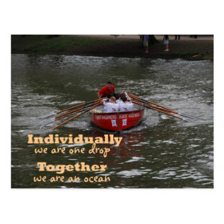Individually or Together Postcard