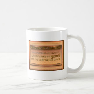 Individuals Are Innocent Coffee Mug