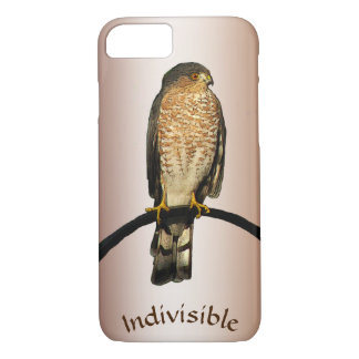 Indivisible Brown Hawk iPhone 7 Case