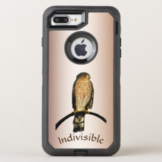 Indivisible Brown Hawk OtterBox iPhone 7 Plus Case