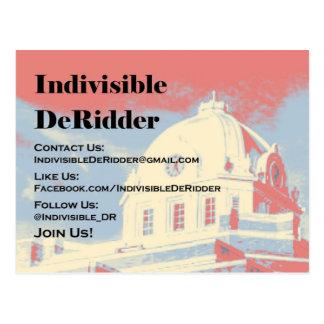 Indivisible DeRidder Postcard