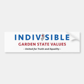 Indivisible GSV Bumper Sticker