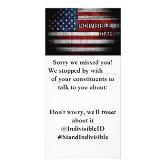 Indivisible Idaho MoC Drop Off Card