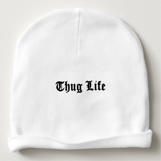 Indivisible OC 48 Baby Beanie - Thug Life