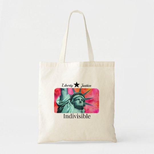 Indivisible Pink Edition Tote Bag