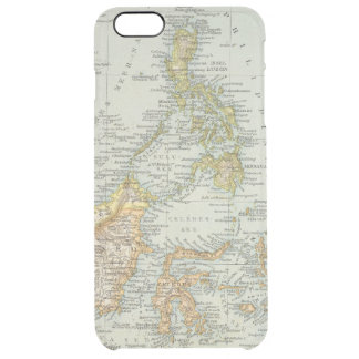 Indo china and Malaysian Archipelago Clear iPhone 6 Plus Case