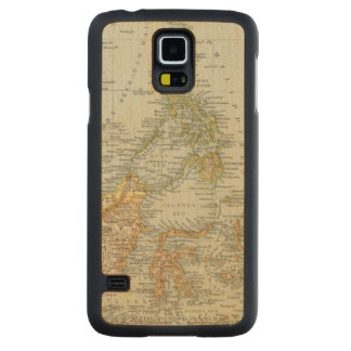 Indo china and Malaysian Archipelago Maple Galaxy S5 Case