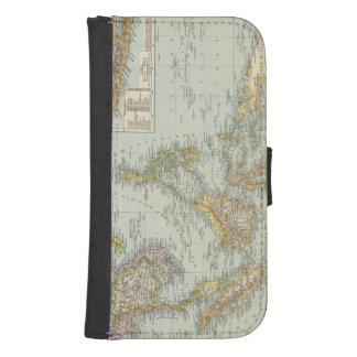 Indo china and Malaysian Archipelago Samsung S4 Wallet Case