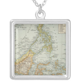 Indo china and Malaysian Archipelago Silver Plated Necklace