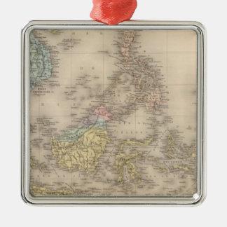 Indochina archipelago of Asia Christmas Ornament