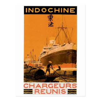 Indochine Chargeurs Reunis Postcards