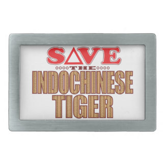 Indochinese Tiger Save Belt Buckle