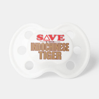 Indochinese Tiger Save Pacifiers