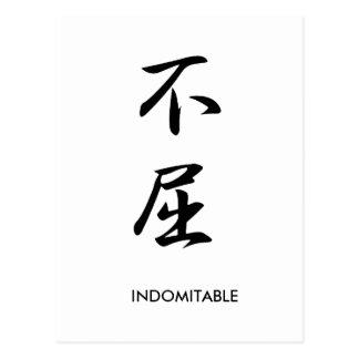 Indomitable - Fukutsu Postcard