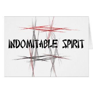 Indomitable Spirit Greeting Card