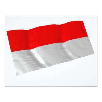 indonesia 11 cm x 14 cm invitation card