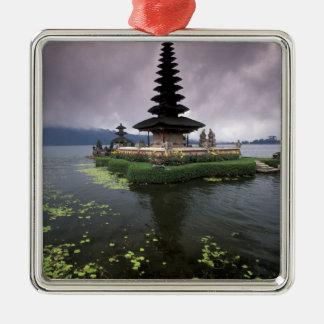 Indonesia, Bali, Ulun Danu Temple. Christmas Ornament