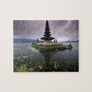 Indonesia, Bali, Ulun Danu Temple. Jigsaw Puzzle