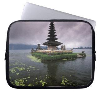 Indonesia, Bali, Ulun Danu Temple. Laptop Sleeve
