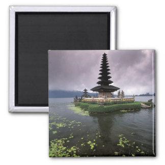 Indonesia, Bali, Ulun Danu Temple. Square Magnet
