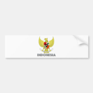 Indonesia Coat of Arms Bumper Sticker