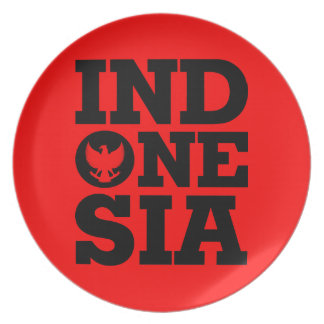 Indonesia Design Plate
