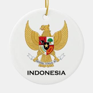 INDONESIA - emblem/flag/coat of arms/symbol Christmas Ornament