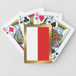 Indonesia Flag Playing Cards