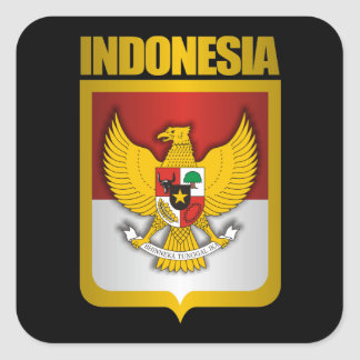 """""""Indonesia Gold"""" Stickers"""