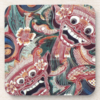 Indonesia graffiti coaster