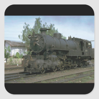 Indonesia, ISRy 4-6-4 T #_Trains of the World Square Sticker