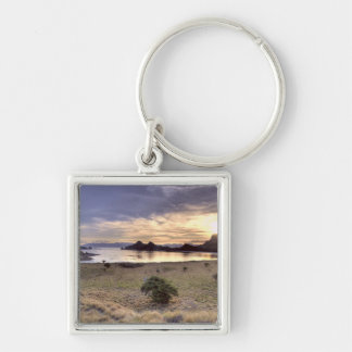Indonesia, Komodo National Park. Sunset on one Key Ring