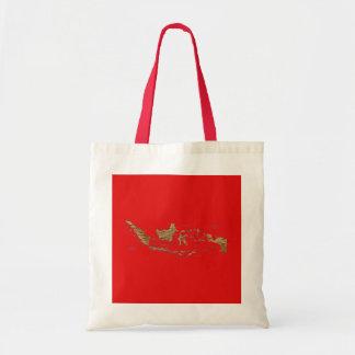 Indonesia Map Bag