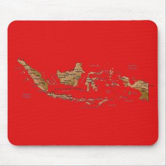 Indonesia Map Mousepad