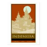 Indonesia Postcard