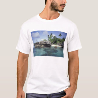 Indonesia. Rock formations along shore T-Shirt