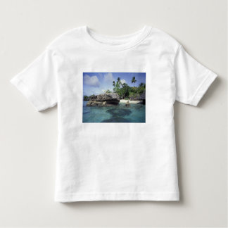 Indonesia. Rock formations along shore Toddler T-Shirt