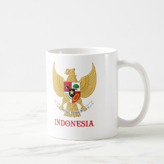 INDONESIA - seal/emblem/blazon/coat of arms/symbol Coffee Mug