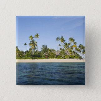 Indonesia, South Sulawesi Province, Wakatobi 15 Cm Square Badge