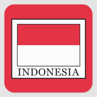 Indonesia Square Sticker