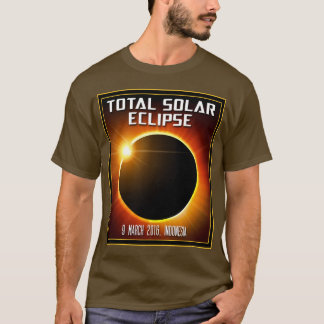 Indonesia Total Solar Eclipse (2016) T-Shirt