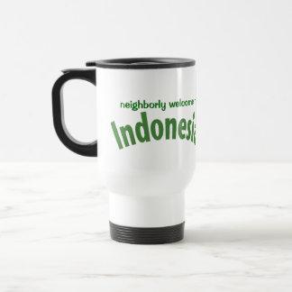 Indonesia Travel Souvenir Coffee Mug
