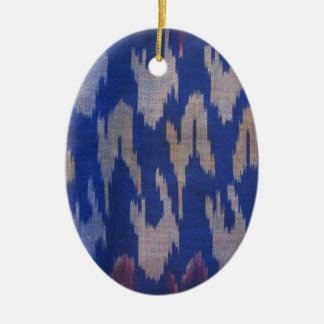 Indonesian Blue Special Fabric Christmas Tree Ornaments