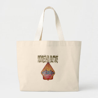 Indonesian culture canvas bags
