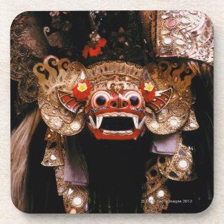 Indonesian mask coaster