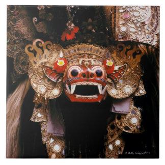 Indonesian mask tile